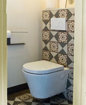 Mevr schipper hestia maastricht for Deco tegel wc