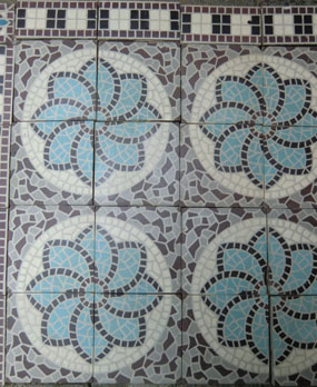 History of antique Floor Tiles