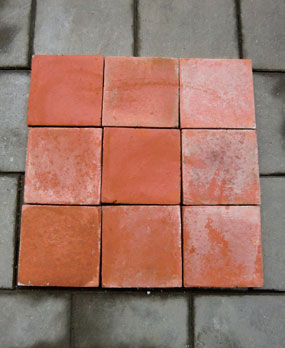 Antique terracotta Floor Tiles