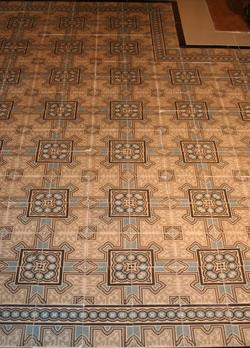 Antique Floor in the showroom.